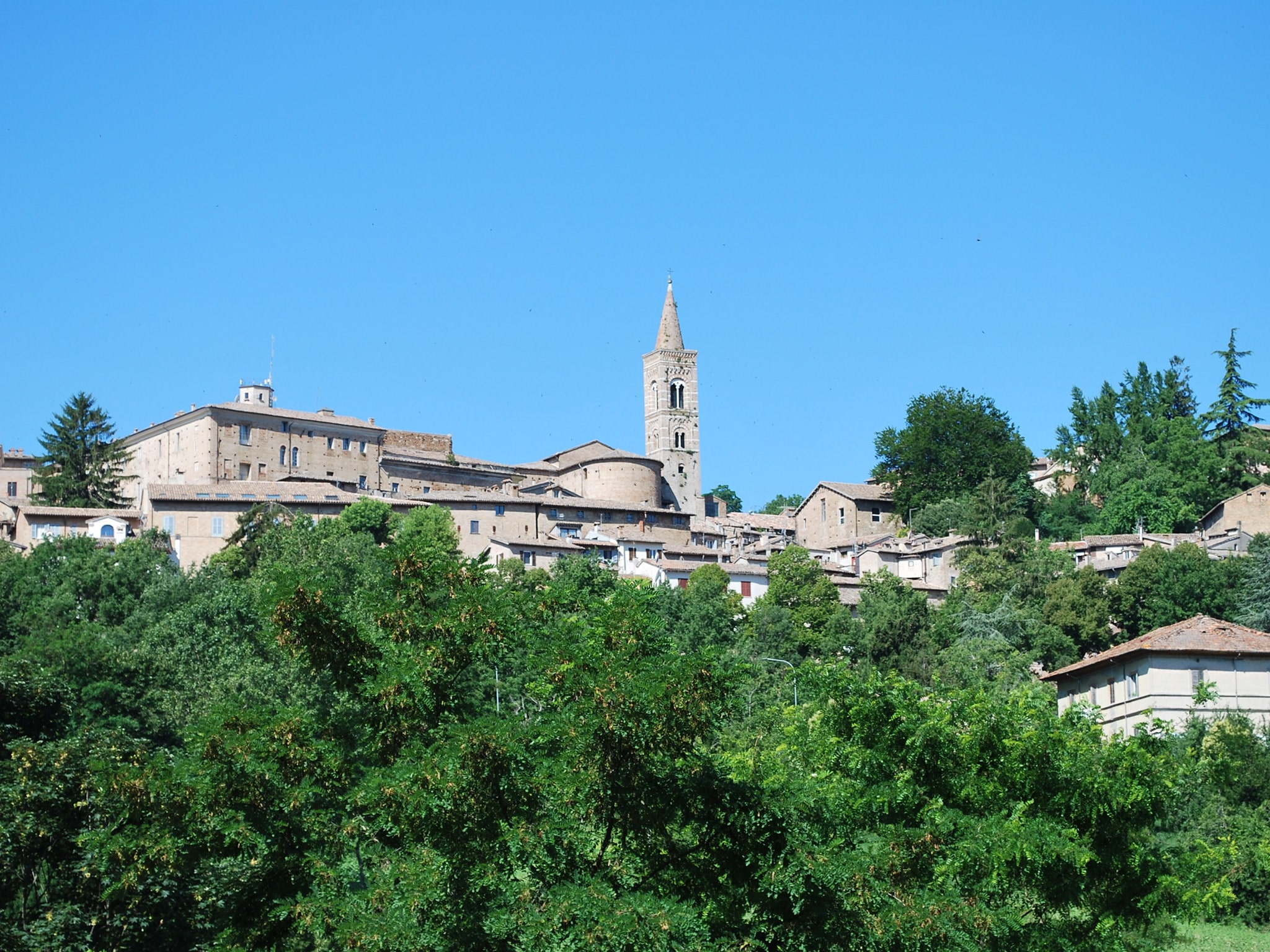 Bed and Breakfast Urbino - veduta centro storico